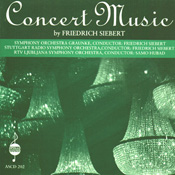 Concert Music by Friedrich Siebert - Stuttgard/Lublijana/Graunke - Click Image to Close